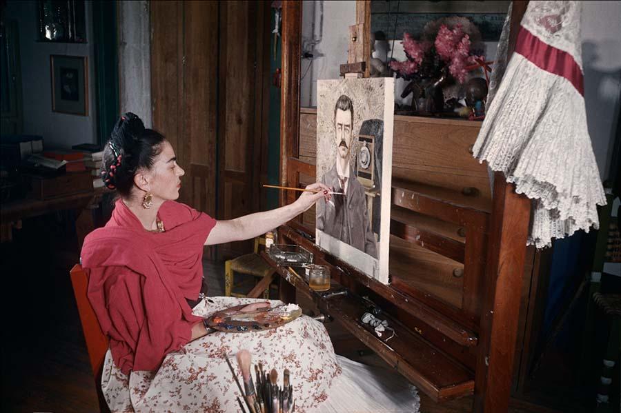 The Gisèle Freund Photographs, Frida Kahlo