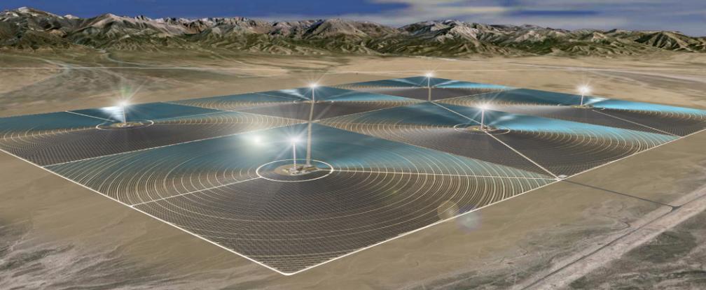 Çin ilk büyük ölçekli güneş tesisini Gobi çölünde kuruyor