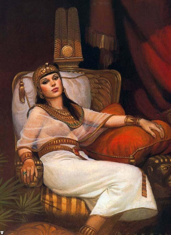 İntiharının yıldönümünde Kleopatra'nın kadın kimliği üzerine 4