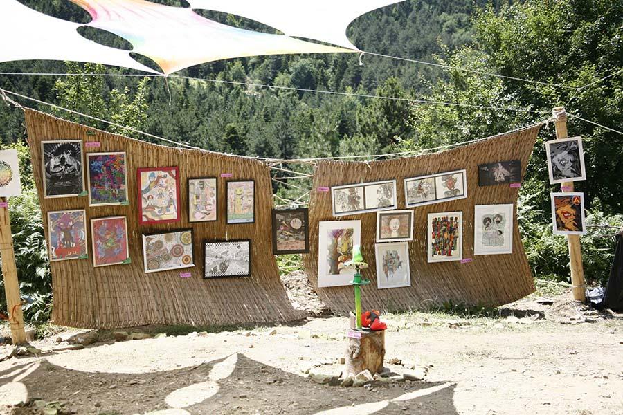 Anadolu toprakları kendi başına bir Psychedelic Art Gallery 5