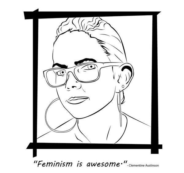 Badass Feminist Coloring Book 5