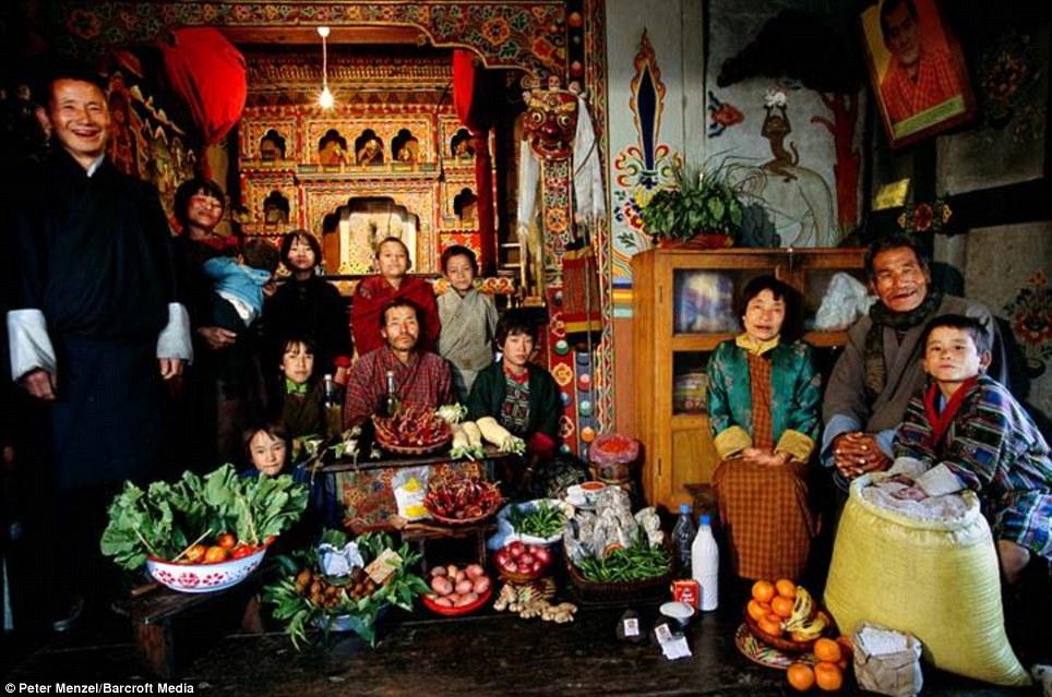 Butan Krallığı - Haftalık 3,20 Pound