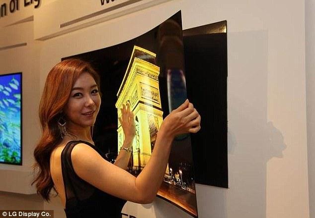 Esnek OLED ekranlar devri yakın (1)