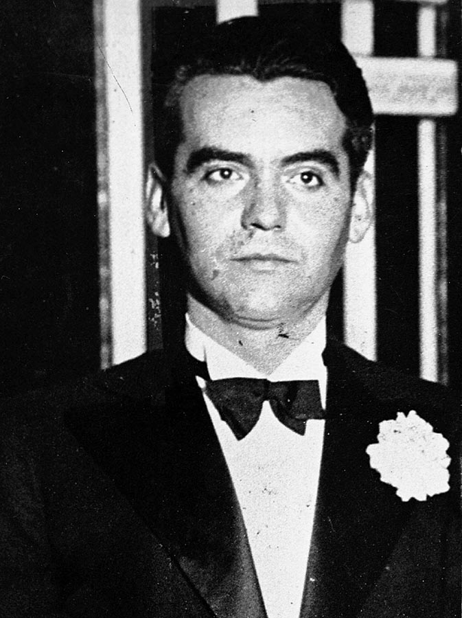 This is an undated  photo of Spanish poet Federico Garcia Lorca, when he was about 30. Rain washed out the Friday, June 5, 1998 outdoor centennial gala in the small town where Spain s most translated poet was born 100 years ago. Relegated to the cultural shadows during Gen. Francisco Franco s 40-year regime, the town did not mark an anniversary of Lorca s birth until 1976, a year after the dictator died. (AP Photo/EFE)