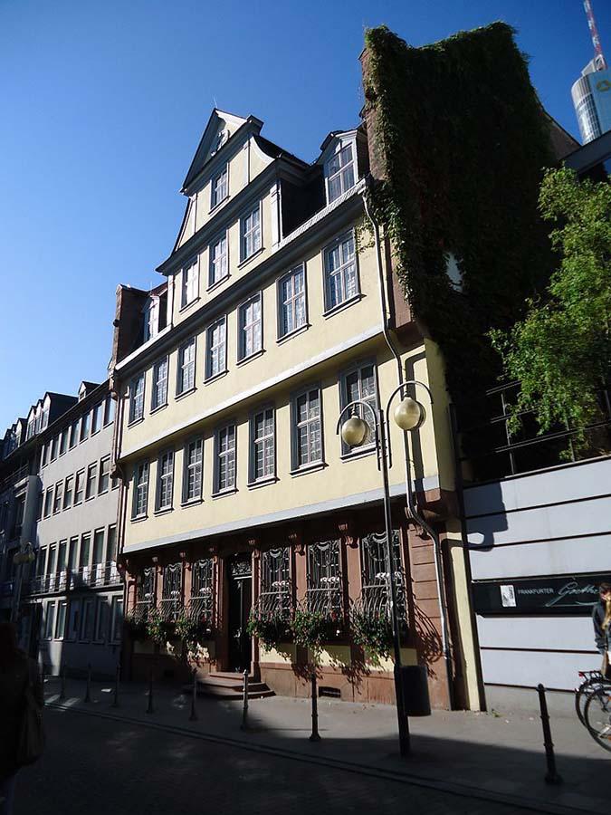 Goethe'nin Doğduğu Ev