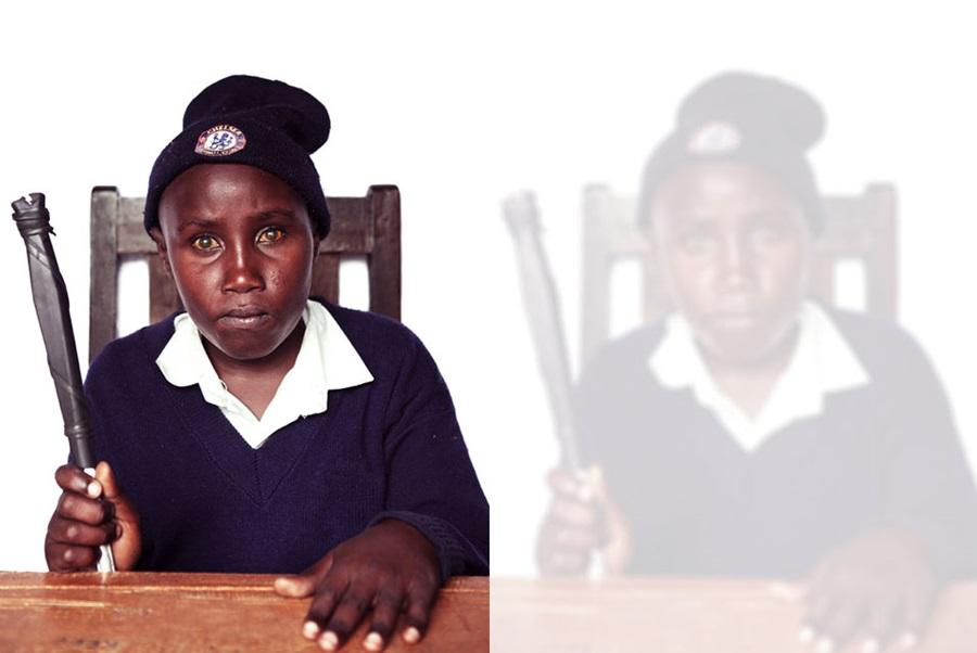 Kendilerini nasıl gördüklerini anlatan görme engelli çocuk portreleri 1