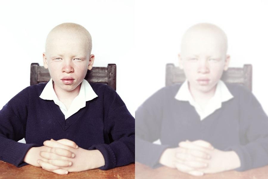 Kendilerini nasıl gördüklerini anlatan görme engelli çocuk portreleri 2