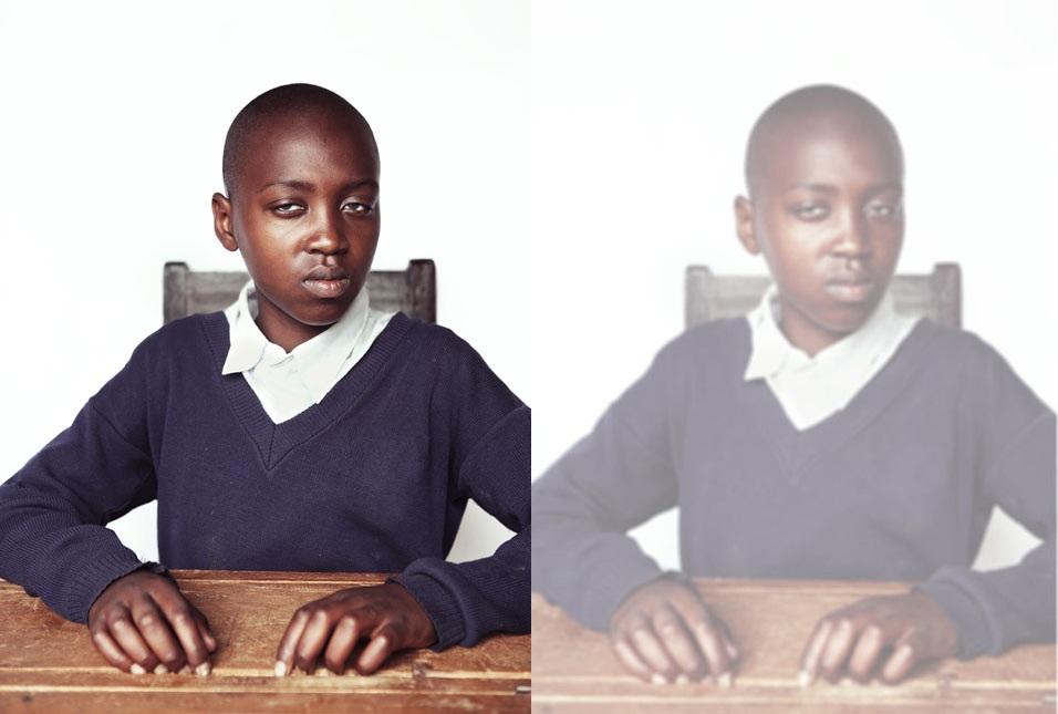 Kendilerini nasıl gördüklerini anlatan görme engelli çocuk portreleri 4