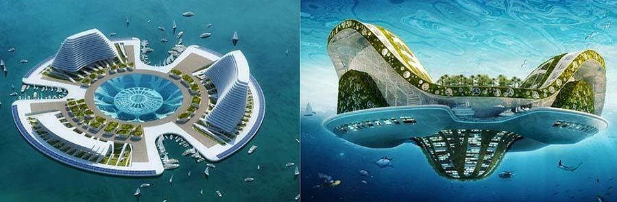 Lilypad Geleceğin ekolojik yüzen evleri (8)