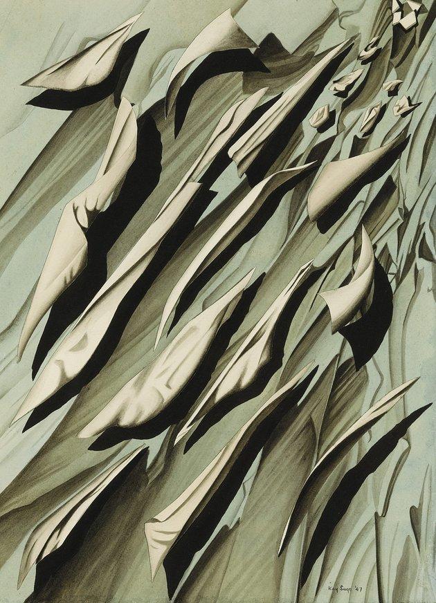 RESİM 5 - Kay Sage, Arithmetic of Wind, 1947
