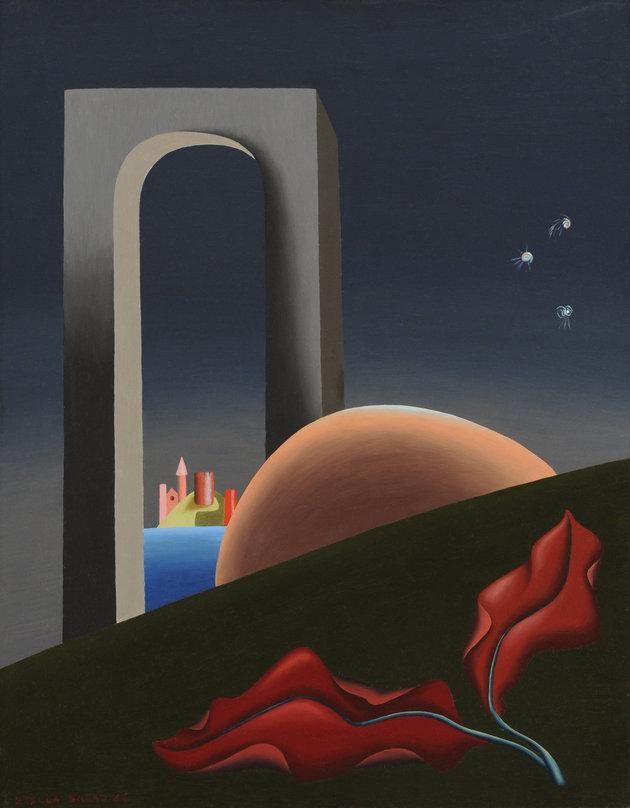 RESİM 8 - Stella Snead, Eclipse of the Moon. 1942