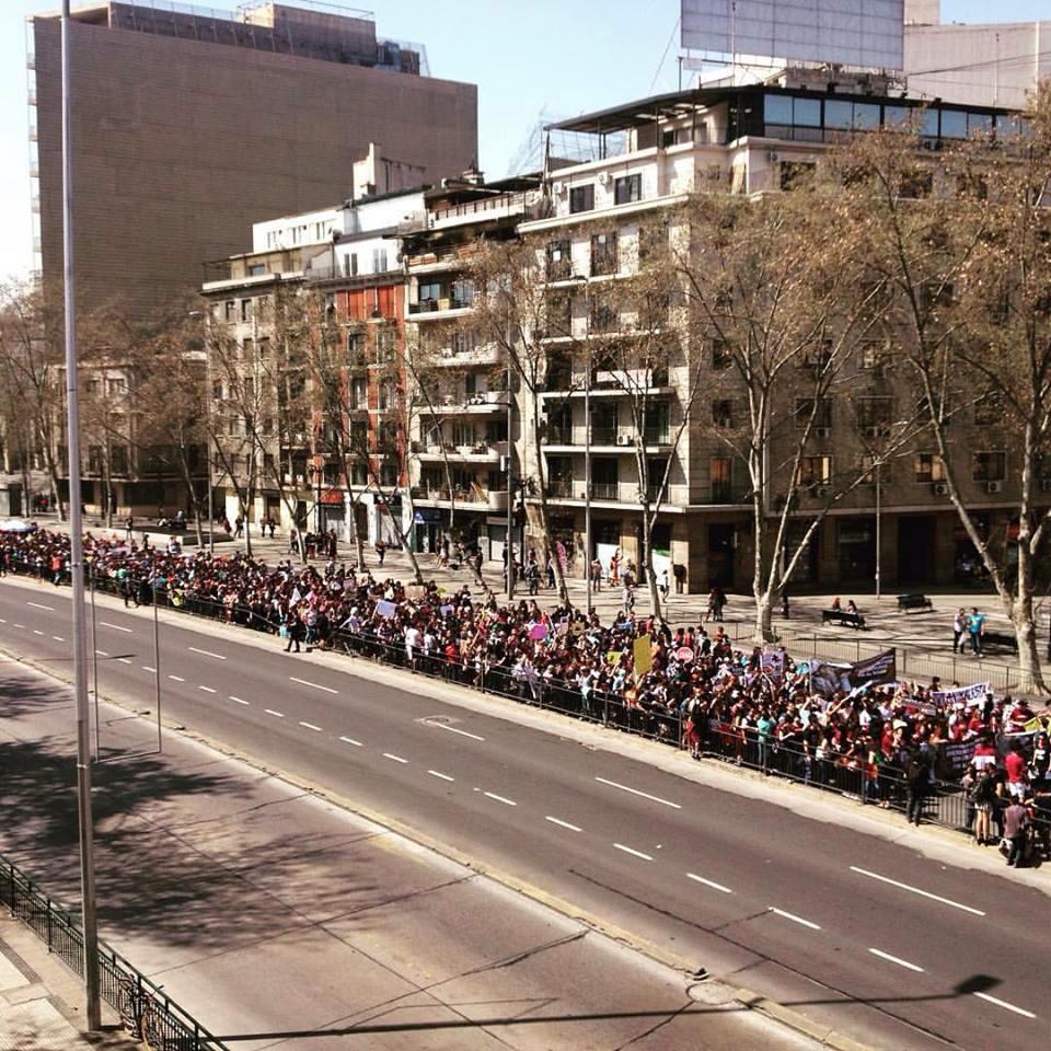 Şili Rodeo Protesto