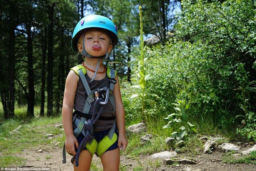 3 yaşındaki kızıyla doğayı keşfediyor 10