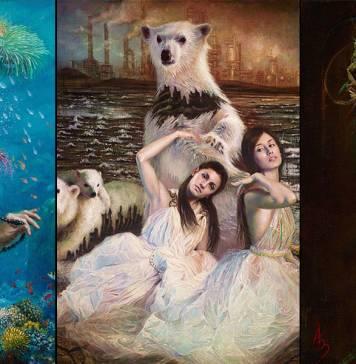 İnsanlığın doğa üzerindeki yıkıcı etkisi sürrealizmle buluştu: Oracle of Extinction