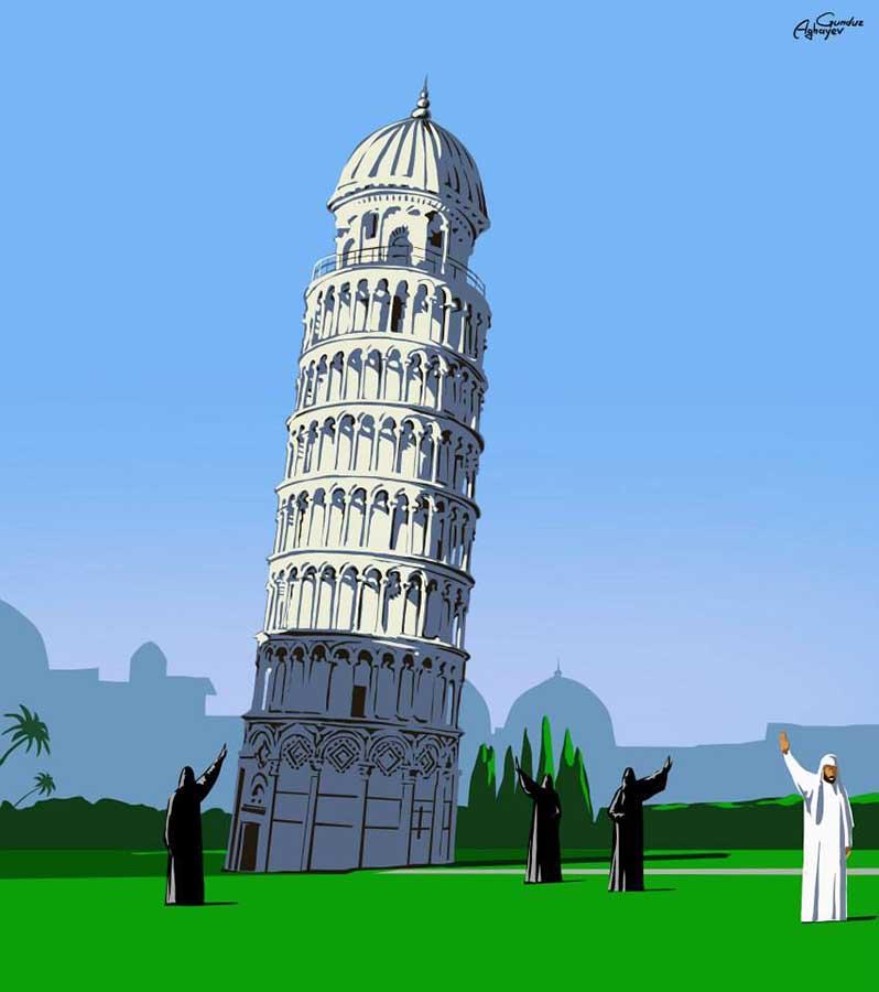 Batı mimarisi ile Doğu kültürü metamorfoz ile bir araya geliyor