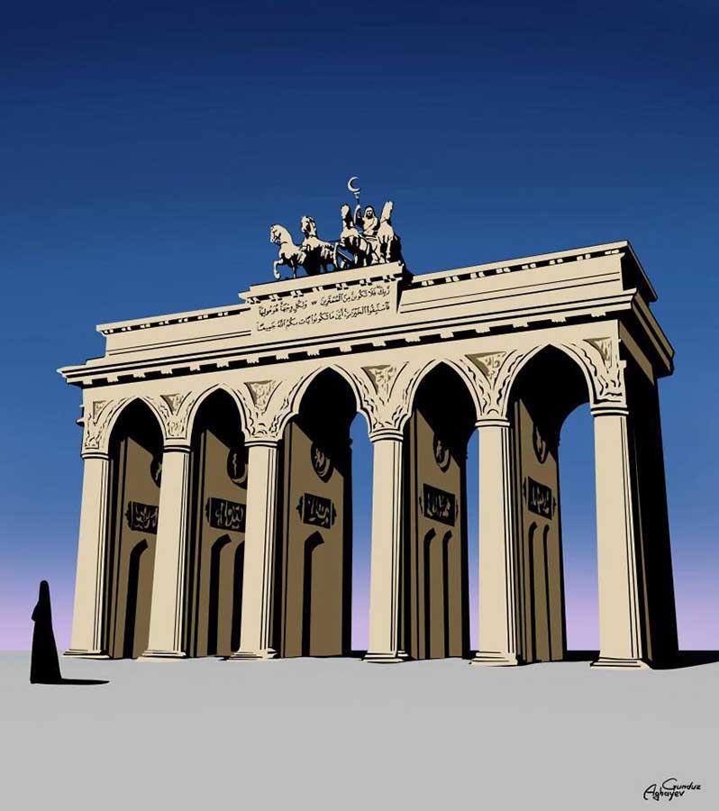 Batı mimarisi ile doğu kültürü bir araya geliyor 2