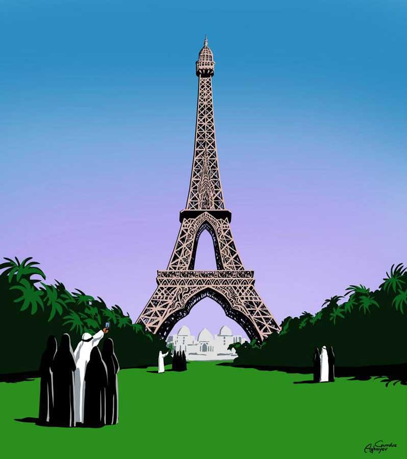 Batı mimarisi ile doğu kültürü bir araya geliyor 3