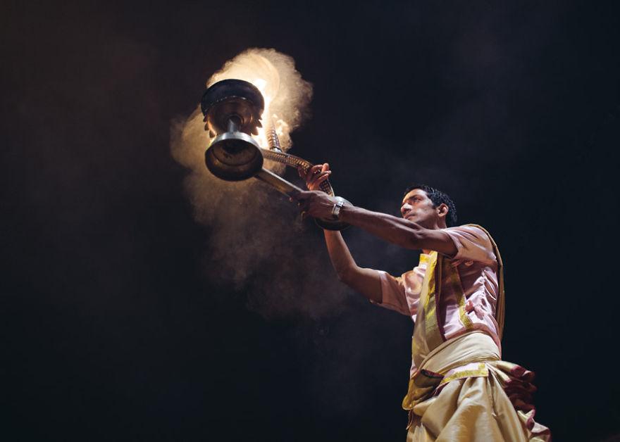 Brahmin Performing Puja