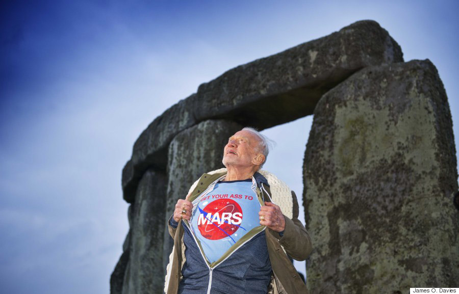 Buzz Aldrin Mars 1