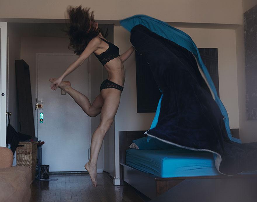 En doğal haliyle dansın yansıması David Perkins 1