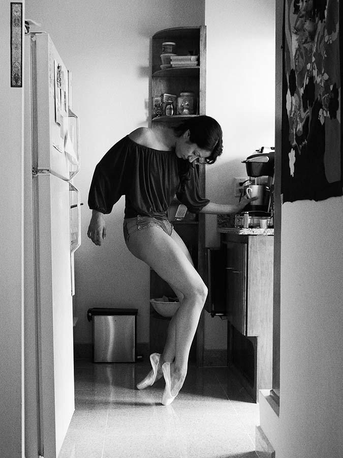 En doğal haliyle dansın yansıması David Perkins 11
