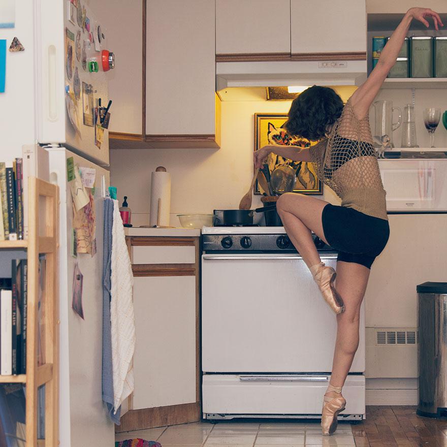 En doğal haliyle dansın yansıması David Perkins 7