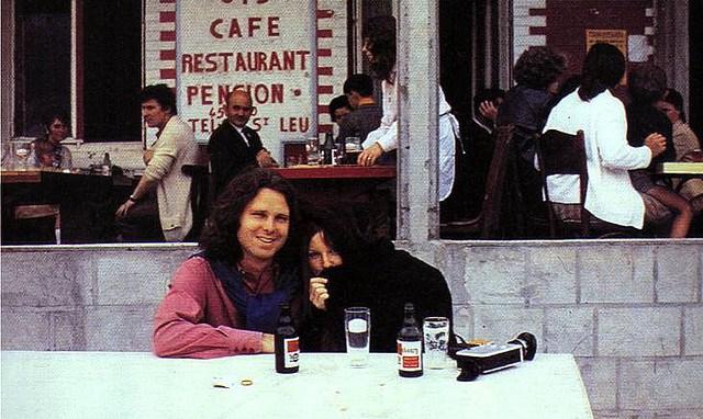 Jim Morrison'un ölmeden önceki bilinen son fotoğrafları 3