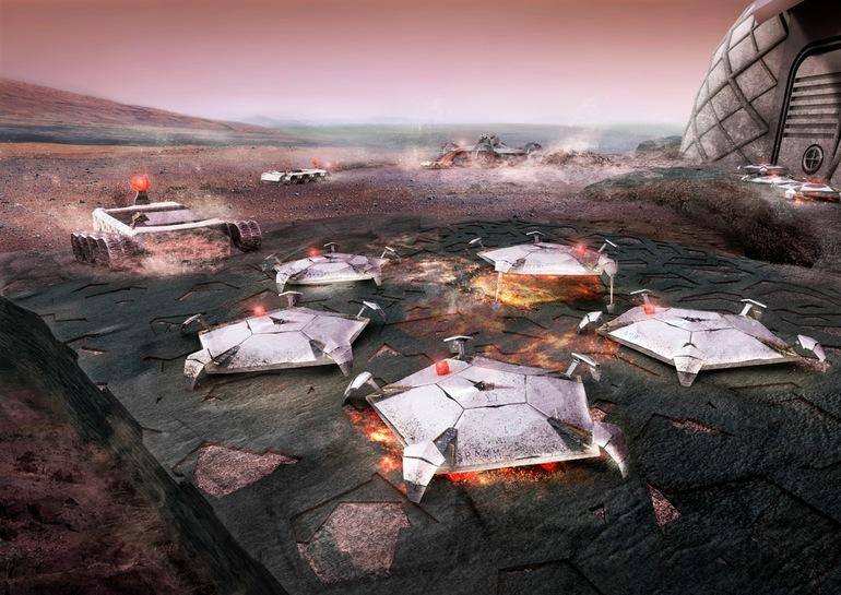 Marsta 3 boyutlu baskç metoduyla insansçz yapçlmasç tasarlanan yapçlar (3)