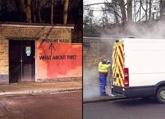 Graffiti sanatçısı yaptığı başarılı deney ile yerel yönetimin sabrını test ediyor