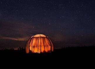 Yeni nesil şeffaf çadırlar yıldız manzaralı huzurlu bir uykuyu ayağınıza getiriyor