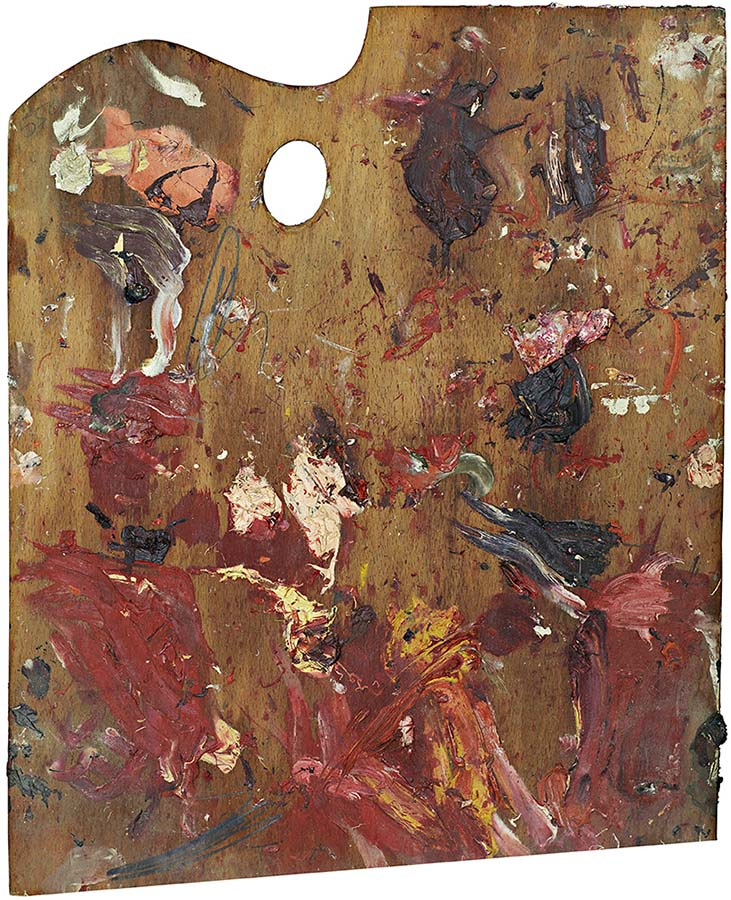 Palette of Cy Twombly