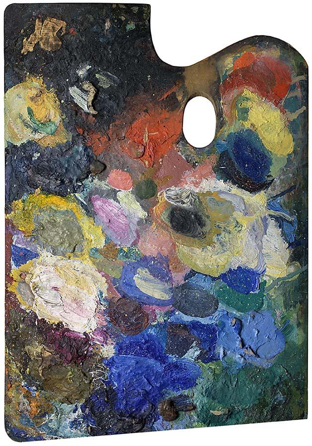 Palette of Wassily Kandinsky