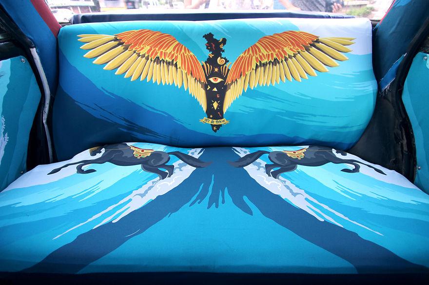 Sistine Chapel Taxi Fabric 4