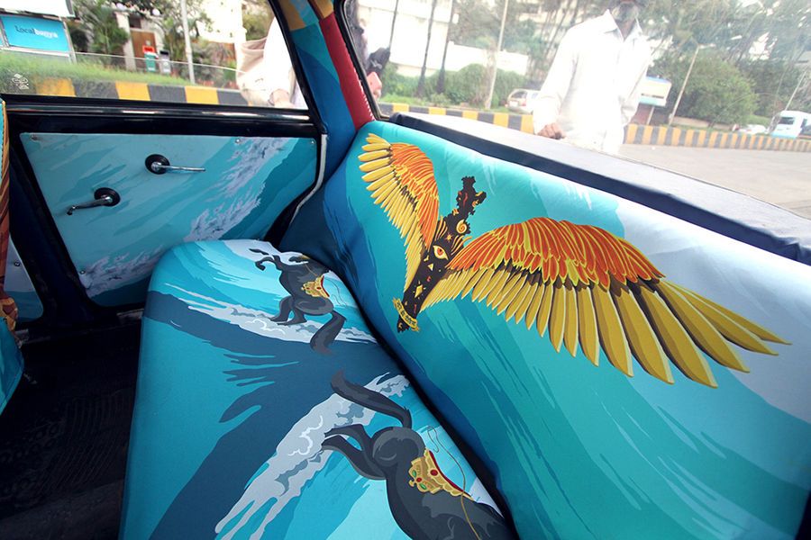 Taxi Fabric 2