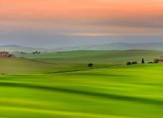 Muhteşem bir kadrajdan Toskana'nın nefes kesen görüntüleri