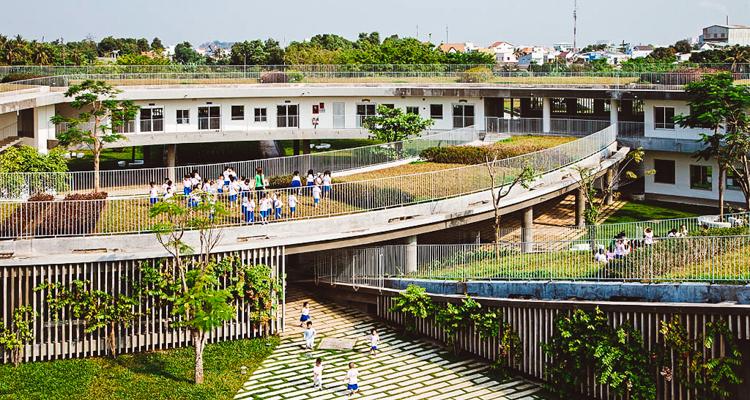 sürdürülebilirokul1  Doğaya dokunarak öğrenen çocuklar: Vietnam'ın sürdürülebilir anaokulu s C3 BCrd C3 BCr C3 BClebilirokul1