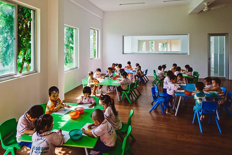 sürdürülebilirokul4  Doğaya dokunarak öğrenen çocuklar: Vietnam'ın sürdürülebilir anaokulu s C3 BCrd C3 BCr C3 BClebilirokul4