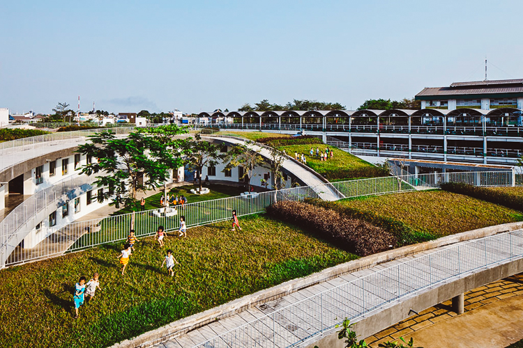sürdürülebilirokul6  Doğaya dokunarak öğrenen çocuklar: Vietnam'ın sürdürülebilir anaokulu s C3 BCrd C3 BCr C3 BClebilirokul6