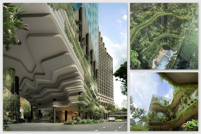 the PARKROYAL on Pickering 2
