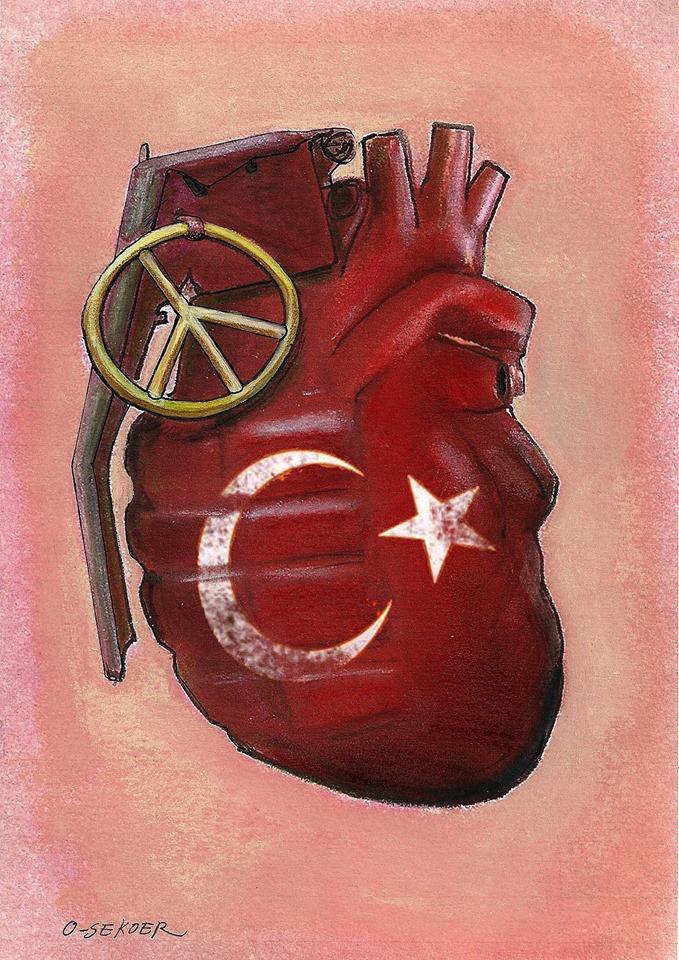 Ankara Katliamı Karikatür 1