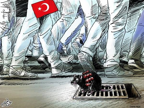 Ankara Katliamı Karikatür 2