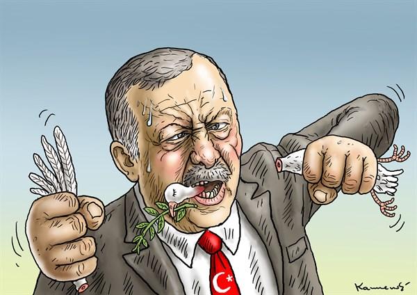 Ankara Katliamı Karikatür 7