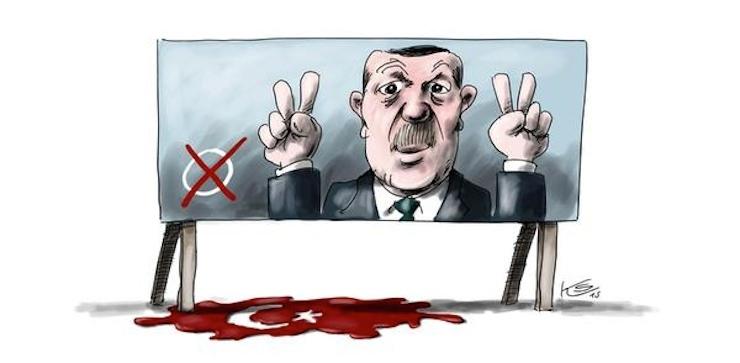Ankara Katliamı Karikatür 9