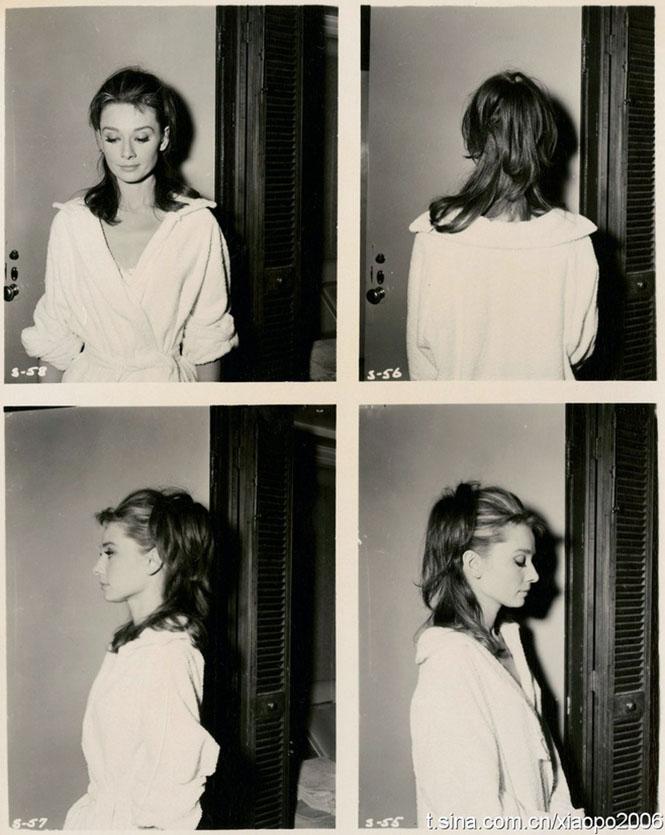 Audrey Hepburn Polaroid