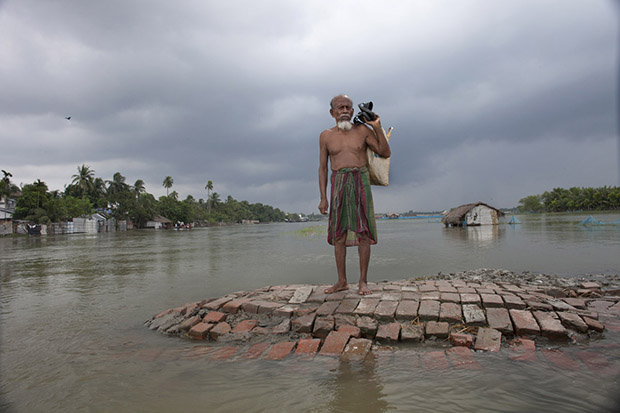 Bangladesh is one of the countries most vulnerable to the effects of climate change. The regular and severe natural hazards that Bangladesh already suffers from – tropical cyclones, river erosion, flood, landslides and drought – are all set to increase in intensity and frequency as a result of climate change. Sea level rise will increasingly inundate coastal land in Bangladesh and dramatic coastal and river erosion will destroy lands and homes. These and the many other adverse effects of climate change will severely impact the economy and development of the country.One of the most dramatic impacts will be the forced movement of people throughout Bangladesh as a result of losing their homes, lands, property and livelihoods to the effects of climate change. While it is impossible to predict completely accurate figures of how many people will be displaced by climate change, the best current estimates state that sea level rise alone will displace 18 million Bangladeshis within the next 40 years. The vast majority of these people will be displaced within Bangladesh – not across international borders – presenting the Government with enormous challenges, particularly when it comes to finding places to live and work for those displaced.