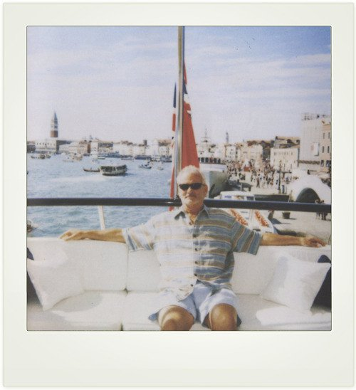 Bill Murray Polaroid
