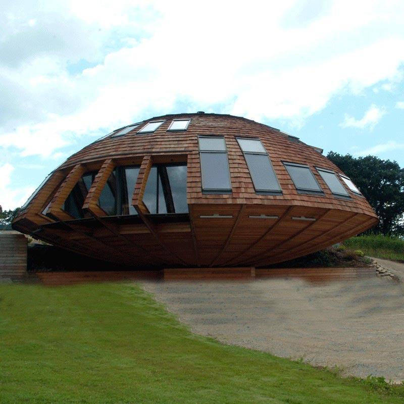 Domespace Felaketlere dayançklç prefabrik ekolojik ev dînerek optimum gÅneü çüçßçnç alçyor (10)
