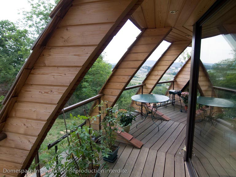 Domespace Felaketlere dayançklç prefabrik ekolojik ev dînerek optimum gÅneü çüçßçnç alçyor (11)