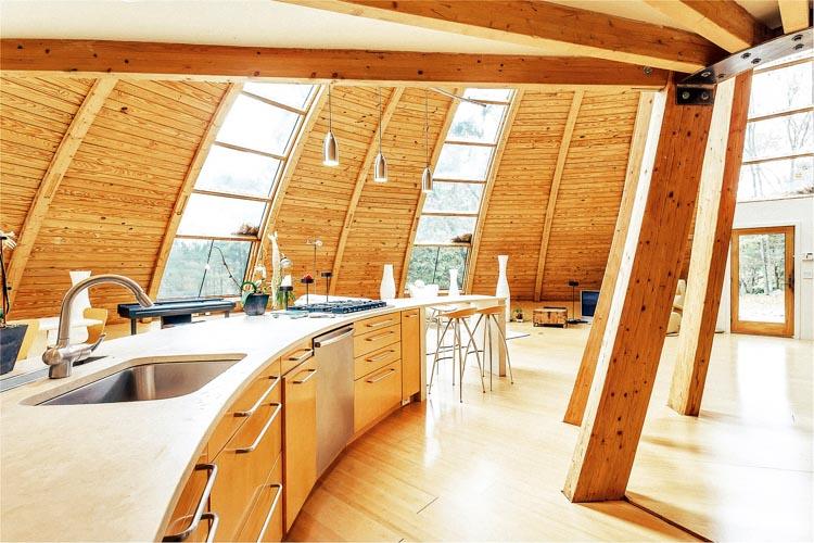 Domespace Felaketlere dayançklç prefabrik ekolojik ev dînerek optimum gÅneü çüçßçnç alçyor (5)