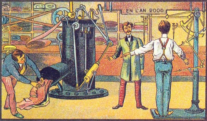 Geleceğe-övgü-2000yılı-19.yy.5  Geleceğe övgü: 2000 yılını hayal eden 19'uncu yüzyıl çizimleri Gelece C4 9Fe  C3 B6vg C3 BC 2000y C4 B1l C4 B1 19